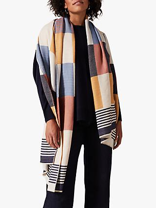 Phase Eight Charli Colour Block Scarf, Multi