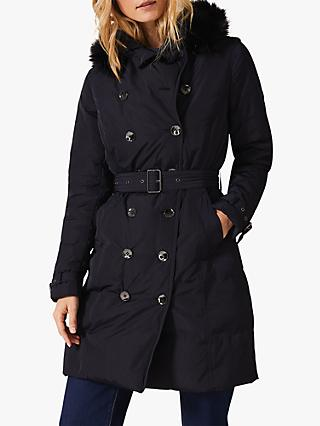 Phase Eight Nicole Faux Fur Puffer Coat