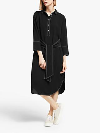 Kin Formal Shirt Dress, Black