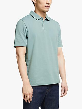 John Lewis & Partners Supima Cotton Jersey Polo Shirt