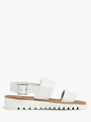 Kin Lisbella Double Strap Leather Sandals