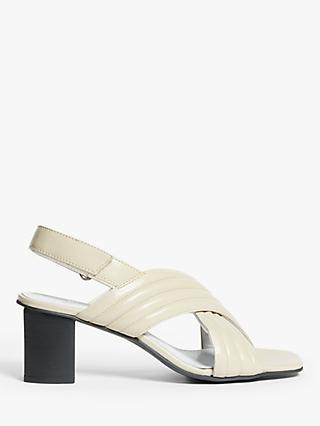Kin Jaya Cross Strap Leather Sandals