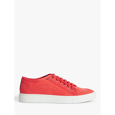 Product photo of Kin eaden canvas lace up trainers
