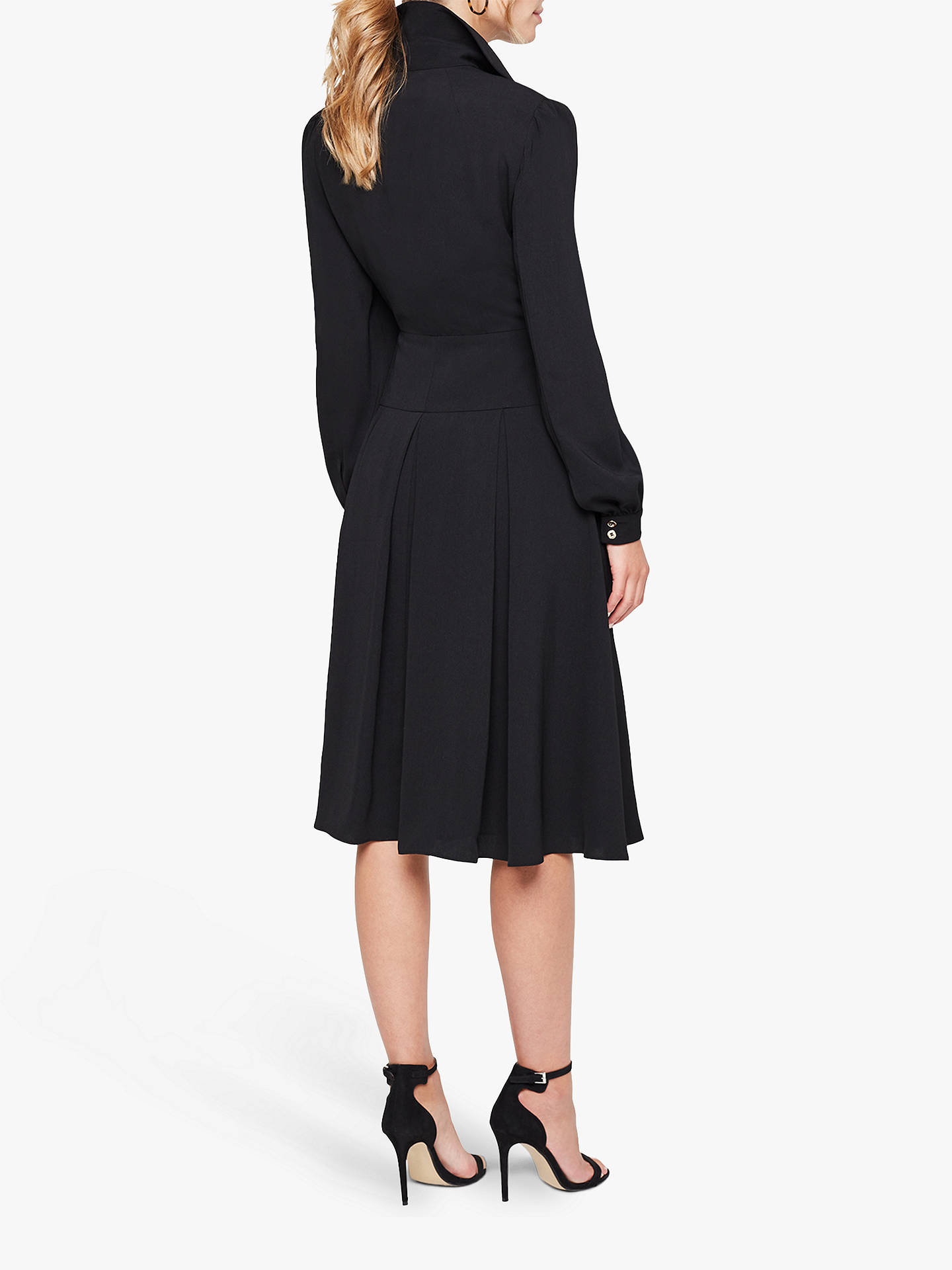 Buy Damsel In A Dress Sancia Trench Dress, Black, 8 Online at johnlewis.com