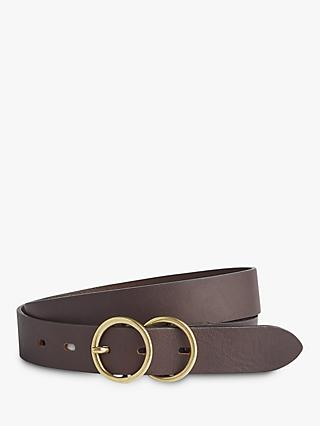 Jigsaw Carlos Leather Double Belt