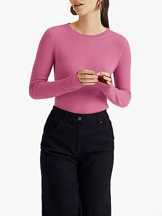 Jigsaw Cloud Cashmere Crew Neck Jumper
