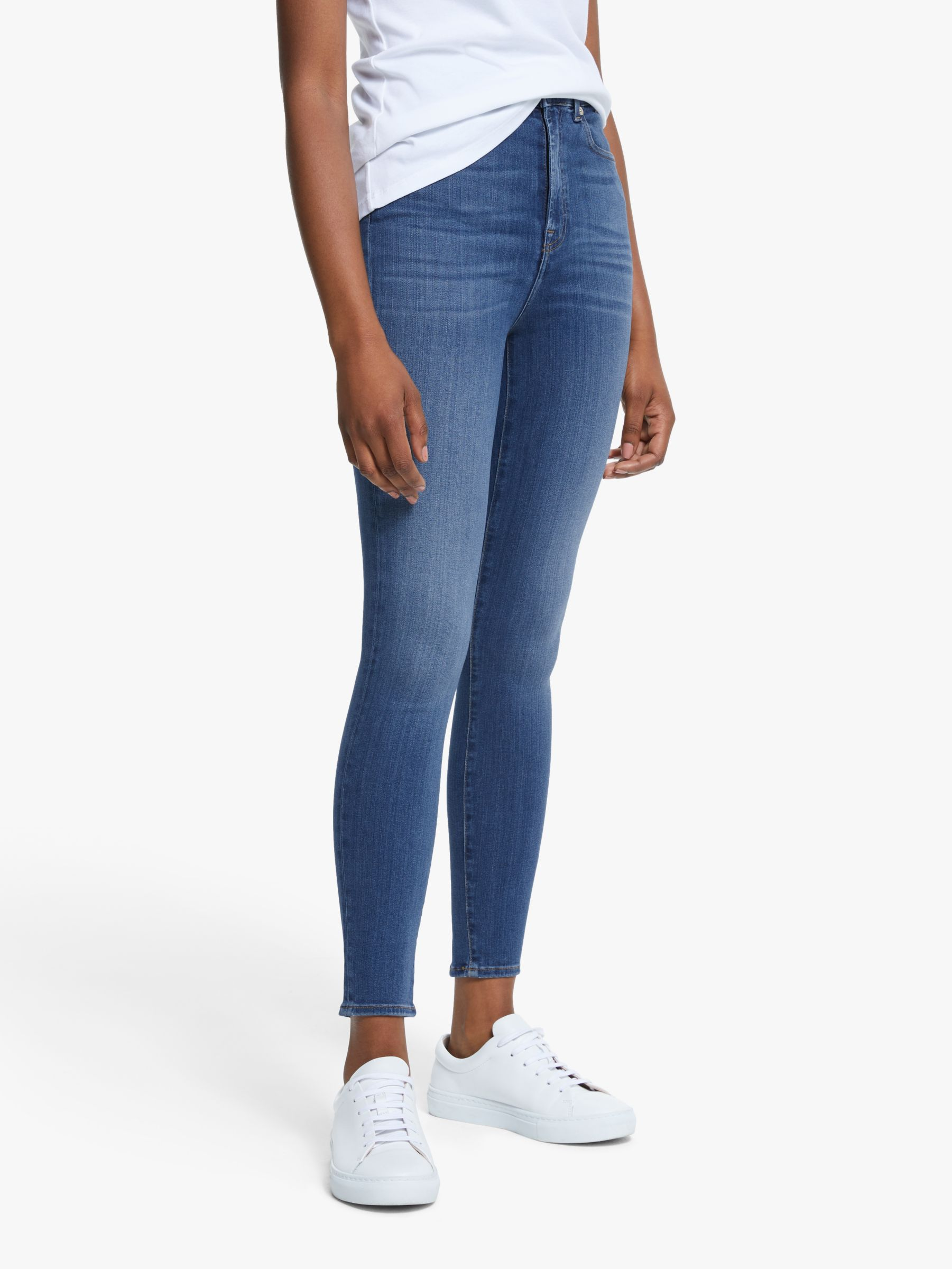 7 For All Mankind 7 For All Mankind Aubrey Skinny Cropped Jeans, Love Story