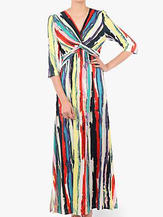 Jolie Moi Twist Front Maxi Dress, Multi