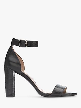 Mint Velvet Lucy Leather Block Heel Sandals