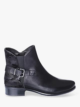 Josef Seibel Alicia 1 Leather Ankle Boots, Black
