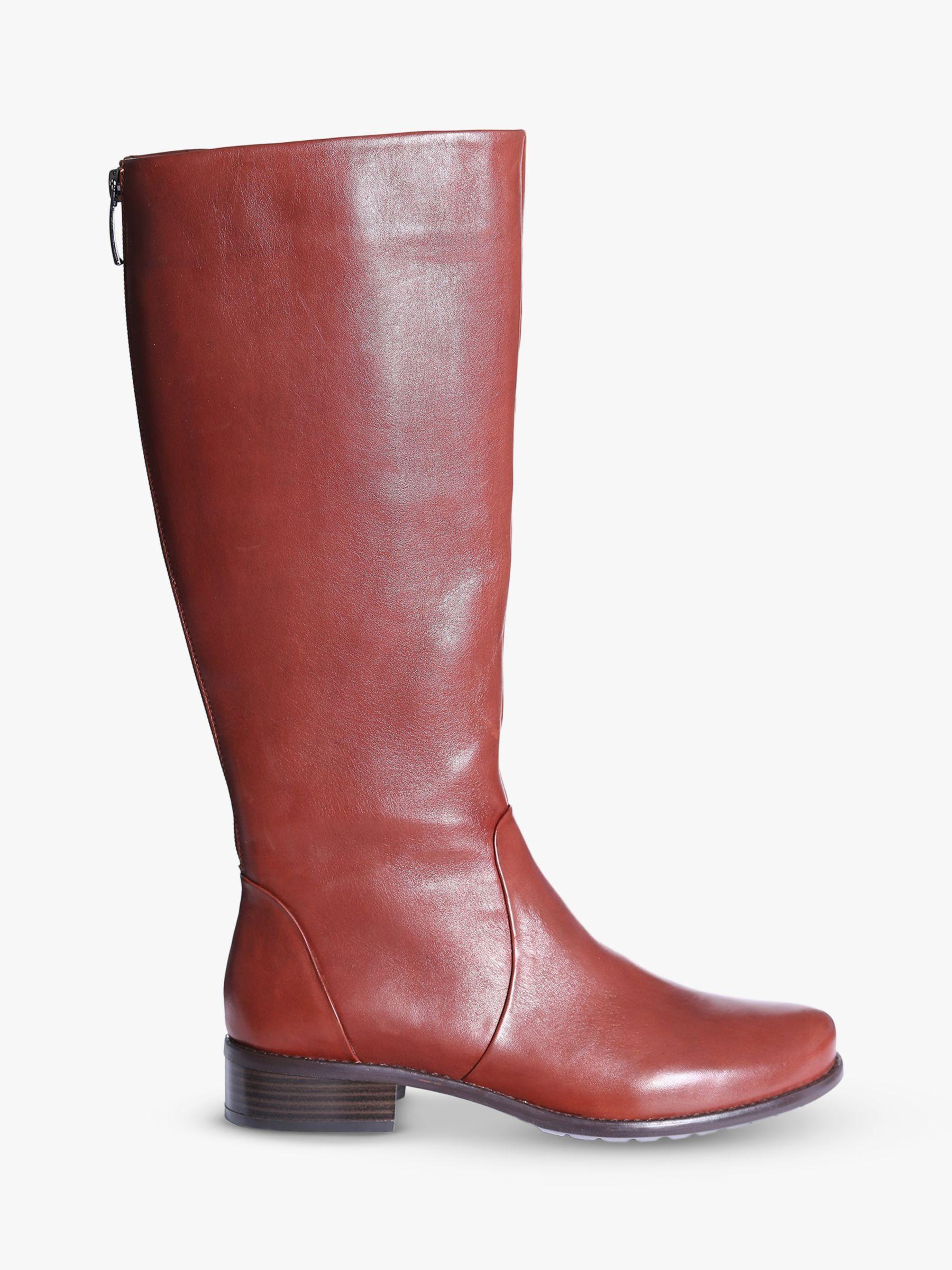 Josef Seibel Josef Seibel Alicia 3 Leather Knee High Boots, Tan