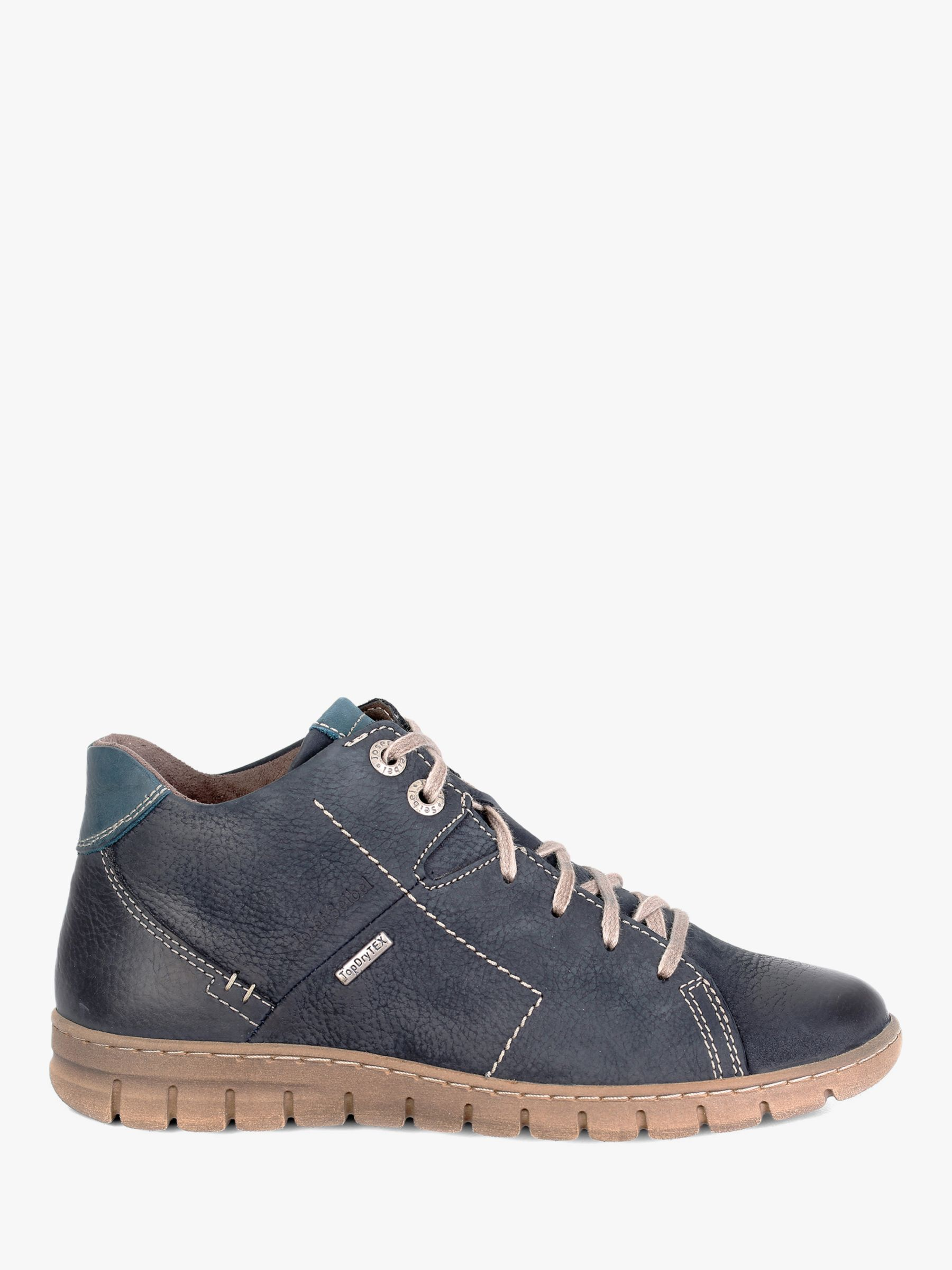 Josef Seibel Josef Seibel Steffi 58 Leather Ankle Boots, Blue