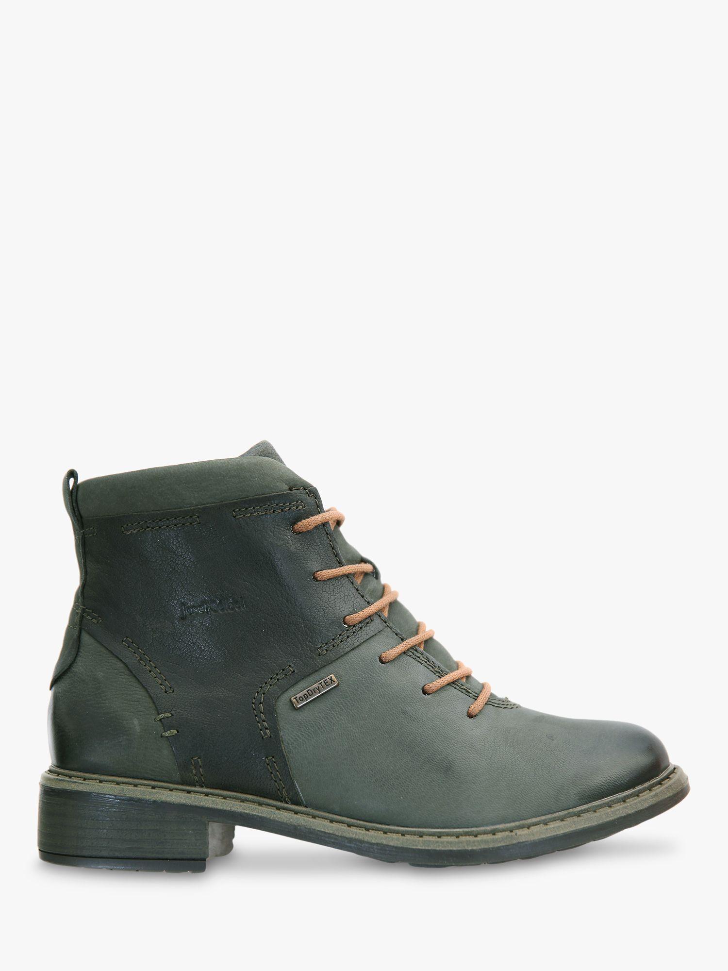 Josef Seibel Josef Seibel Selena 50 Waterproof Leather Ankle Boots, Tanne