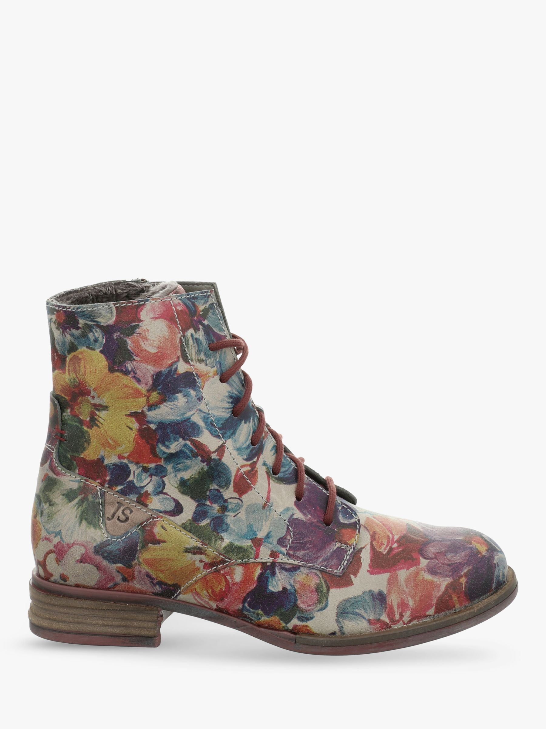 Josef Seibel Josef Seibel Sanja 1 Leather Ankle Boots, Multi