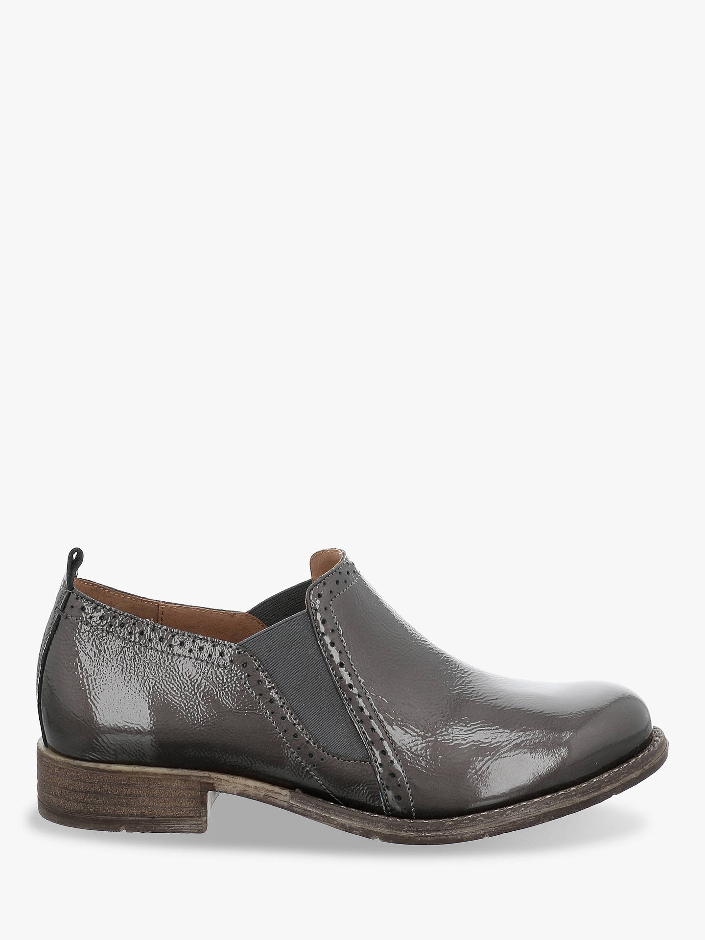 f1af12bd82449 Josef Seibel Sienna 91 Leather Brogues, Grey