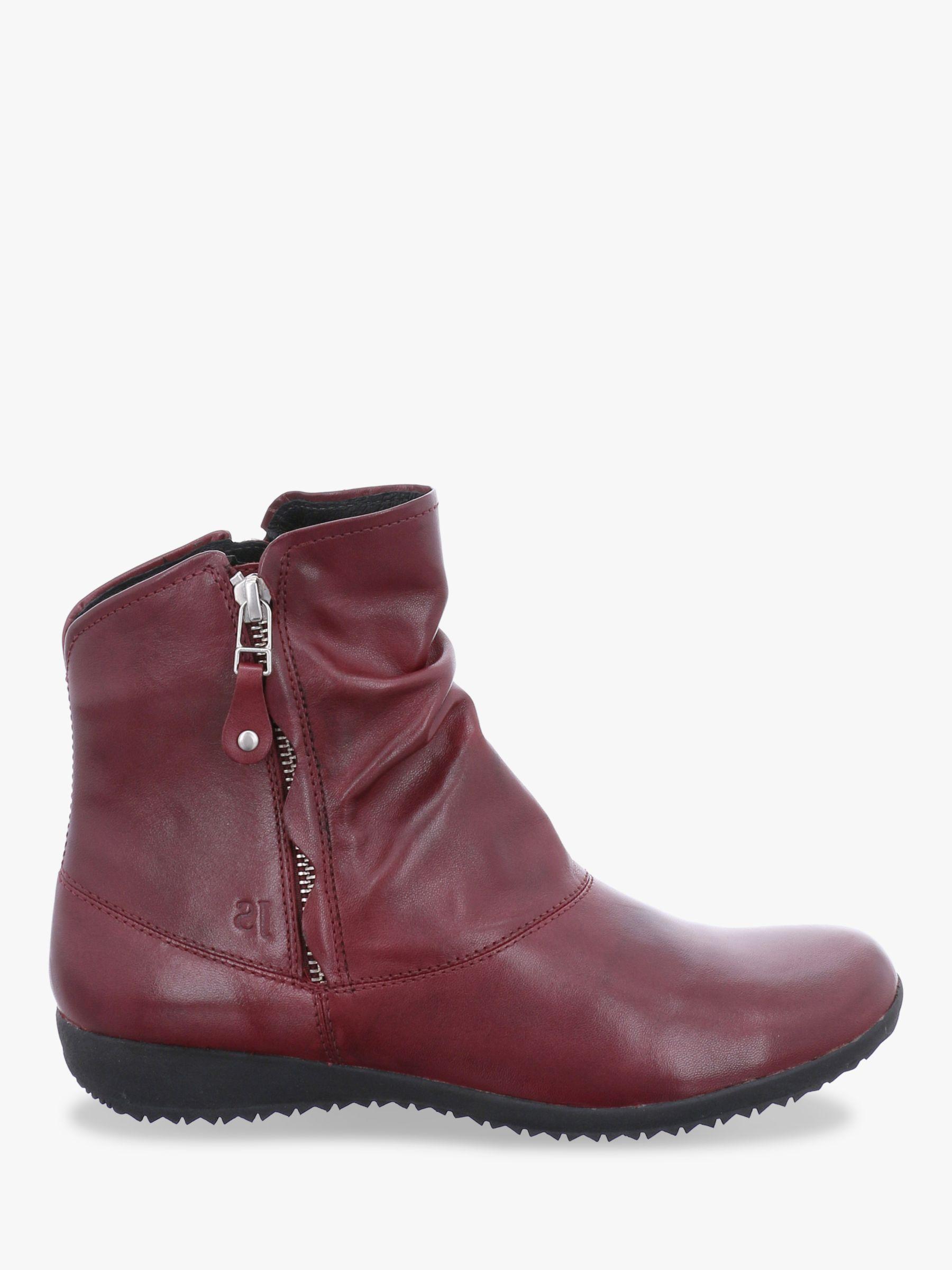 Josef Seibel Josef Seibel Naly 24 Leather Ankle Boots, Boro