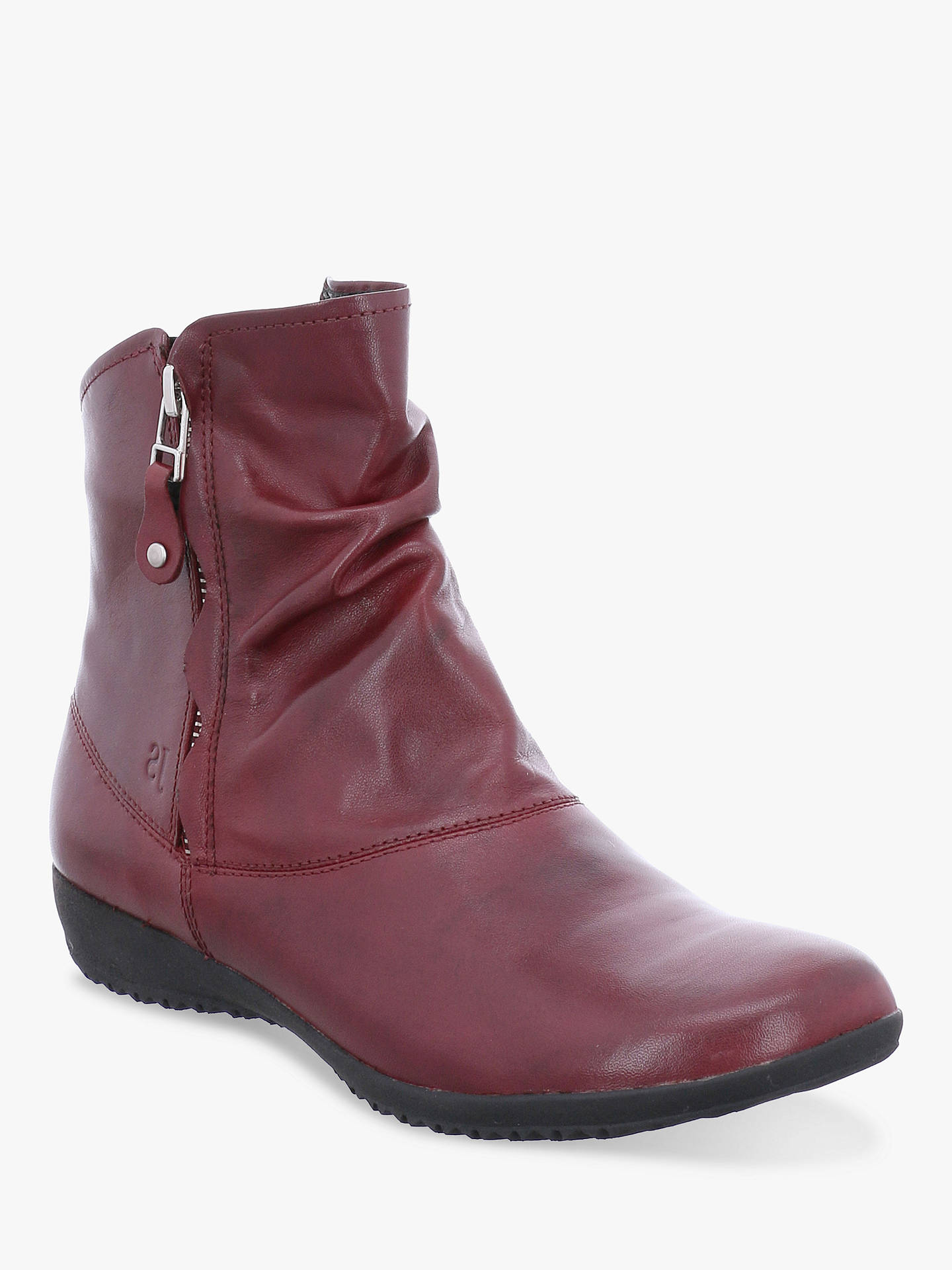 311c1b687bb37 Josef Seibel Naly 24 Leather Ankle Boots, Boro