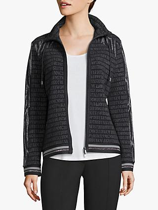 Betty Barclay Alphabet Jacket, Grey/Black