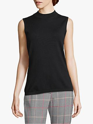 Betty Barclay Sleeveless Top, Black