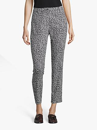 Betty Barclay Alphabet Trousers, Black/Grey