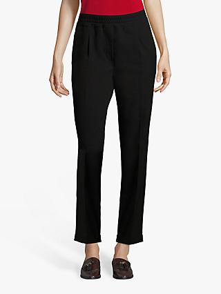 Betty Barclay Crêpe Trousers, Black