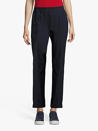 Betty Barclay Crêpe Trousers, Dark Sky