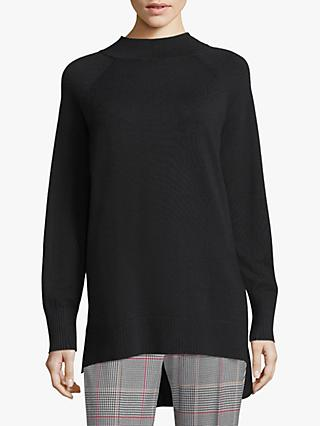 Betty Barclay Long Funnel Neck Jumper, Black
