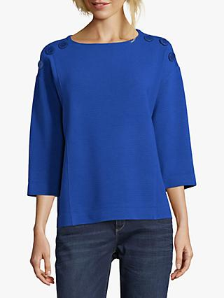 Betty Barclay Button Trimmed Top, Adria
