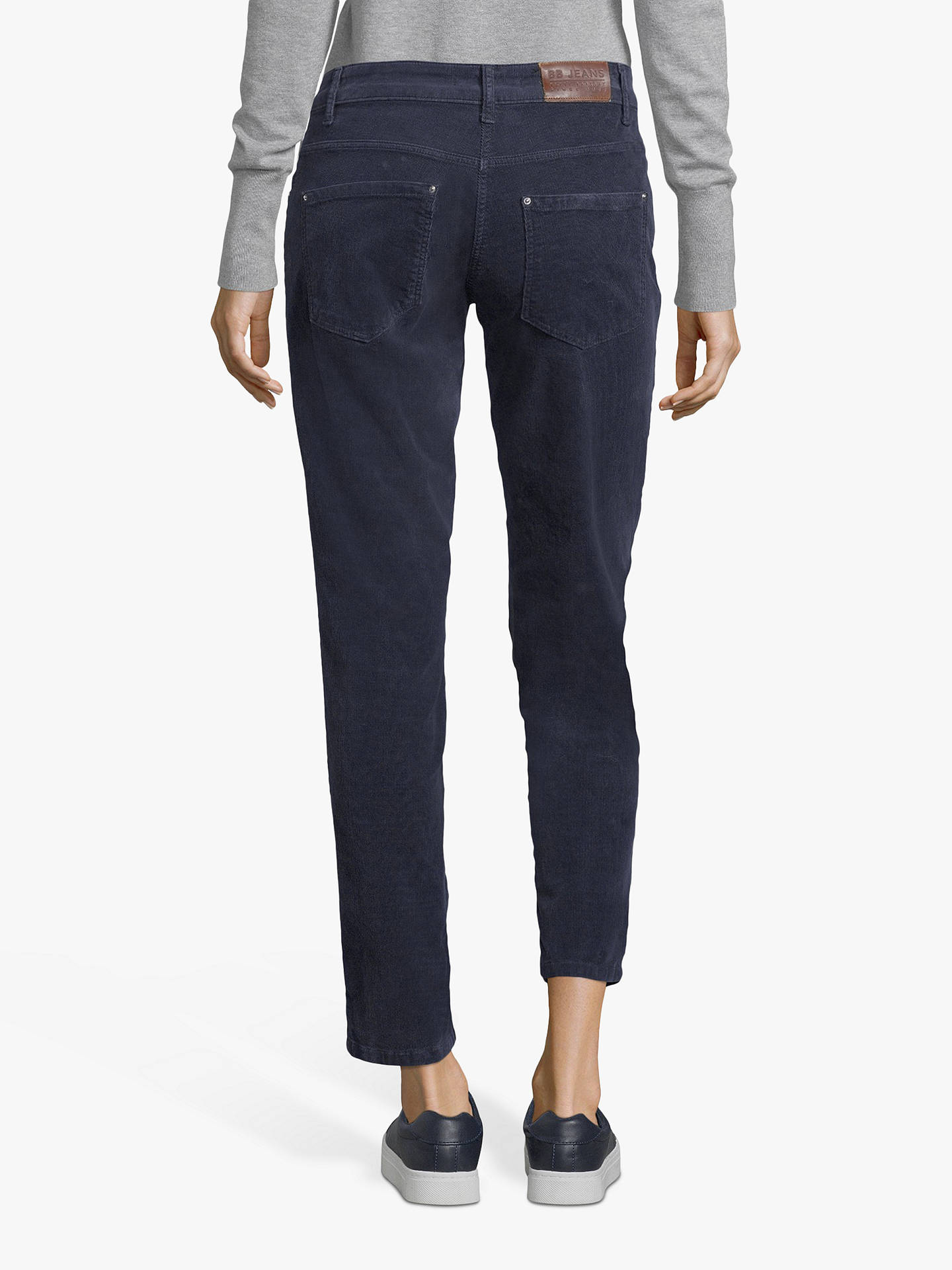 Buy Betty Barclay Needle Cord Jeans, Dark Sky, 10 Online at johnlewis.com