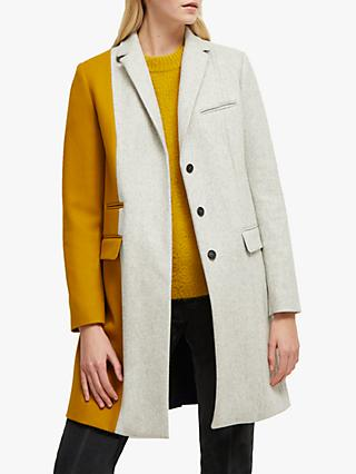 French Connection Carmelita Smart Coat, Multi