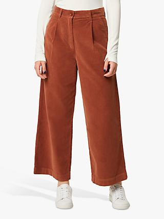 French Connection Manzu Cord Trousers, Casablanca