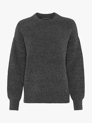 Buy French Connection Rufina Knitted Jumper, Grey, XS Online at johnlewis.com