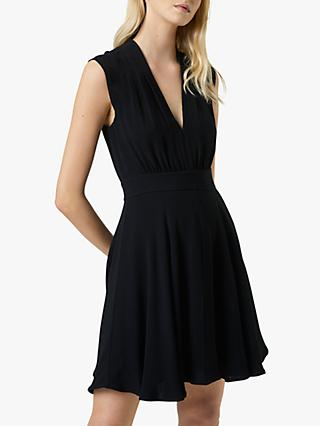 French Connection Carrabelle Crepe V-Neck Dress