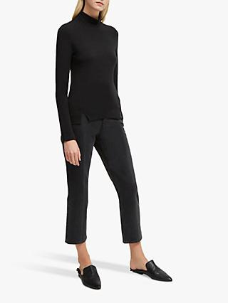 French Connection Venetia Roll Neck Jersey Top