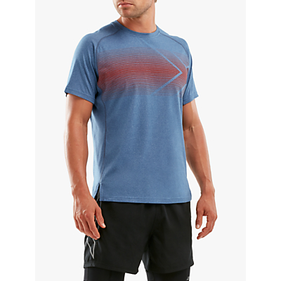 2XU Short Sleeve Training Top, Stellar/Terra
