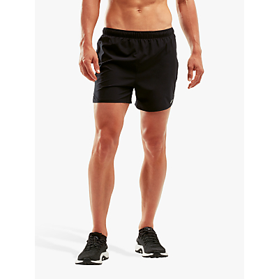 2XU XVENT 5 Brief Training Shorts, Black