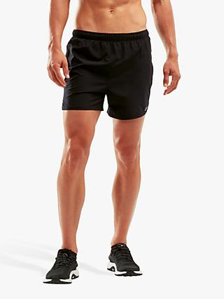 "2XU XVENT 5"" Brief Training Shorts, Black"