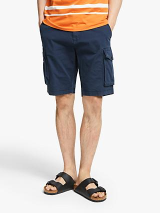 John Lewis & Partners Garment Dye Cotton Ripstop Cargo Shorts