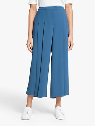 John Lewis & Partners Double Pleat Culottes