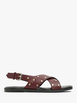 AND/OR Lara Studded Flat Sandals