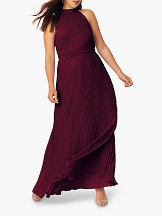 Oasis Megan Pleated Maxi Dress