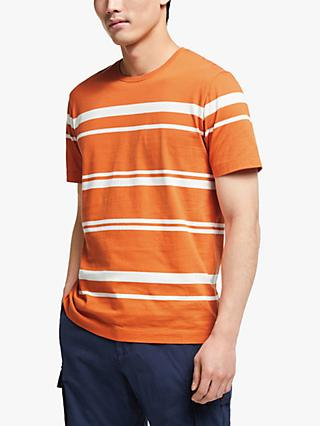 John Lewis & Partners Irregular Stripe T-Shirt