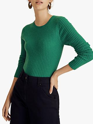 Jigsaw Rib Cloud Cashmere Jumper