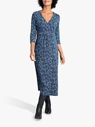 Seasalt Lake II Jersey Dress, Hammered Floral Gallery