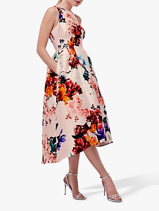Coast Blush Floral Full Midi Dress, Multi