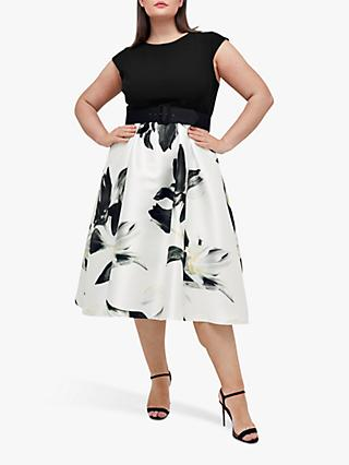 Coast Curve Floral Print Dress, Multi