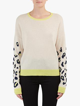 Duffy Animal Print Cashmere Jumper