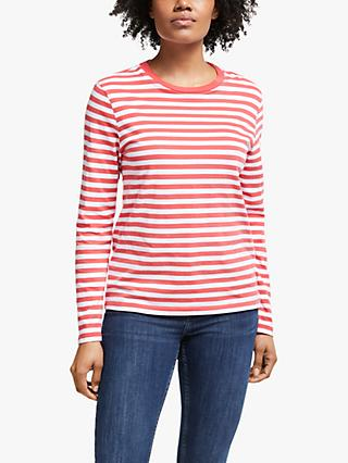 Collection WEEKEND by John Lewis Long Sleeve Breton Stripe T-Shirt