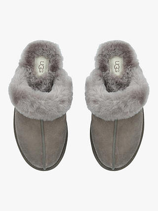 Buy UGG Scuffette II Sheepskin Slippers, Natural Taupe, 3 Online at johnlewis.com