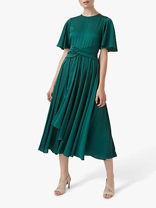 Hobbs Leia Dress, Emerald Green